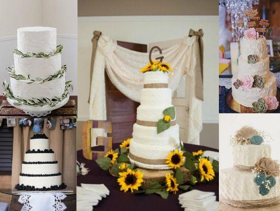 Country Wedding Cake Ideas - Rustic Wedding Ch
