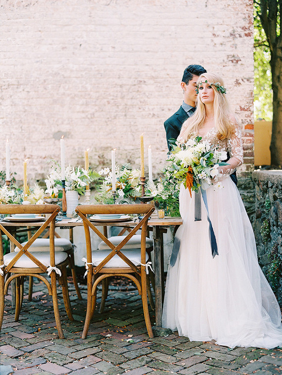 Rustic, vintage french country wedding inspiration - 100 Layer Ca