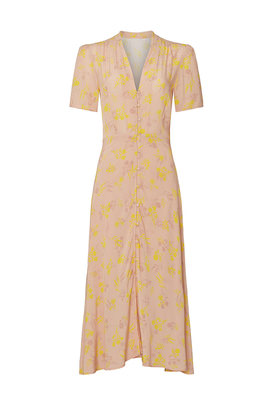 Harmony Midi Dress by ASTR for $30 | Rent the Runw
