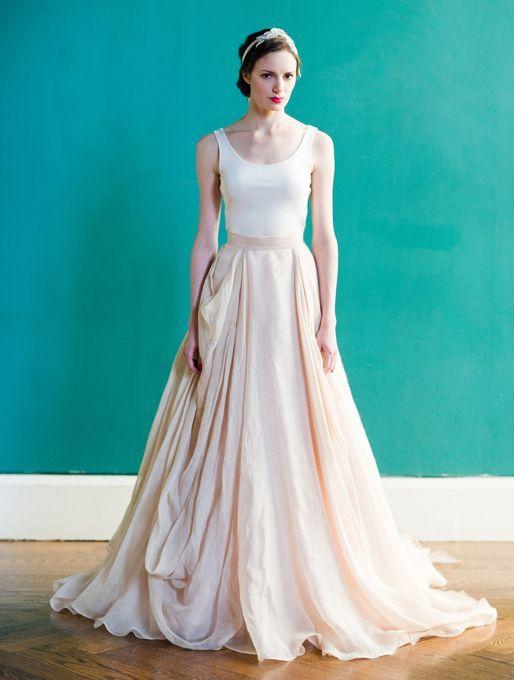 Carol Hannah – Spring 2013 – Kensington Draped Linen and Cotton .