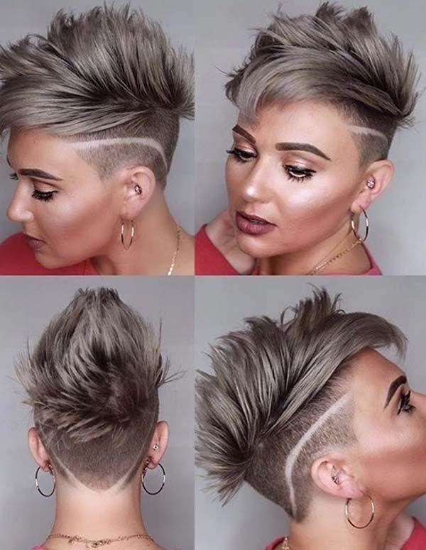 Account Suspended | Short punk hair, Funky short hair, Modern .