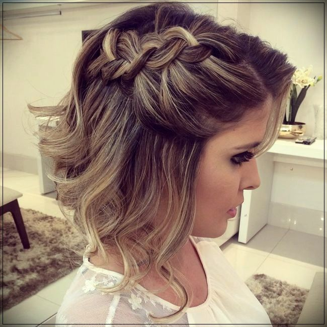 Hairstyles for Party 2019Short and Curly Haircuts | Short wedding .