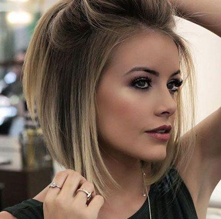 Short Haircuts 2019 | Thick hair styles, Hair styles, Short hair .