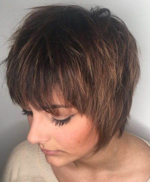 60 Short Shag Hairstyles That You Simply Can't Mi