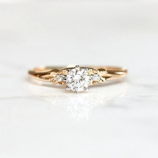 An Honest View of Simple Unique Engagement Rings Vintage Classy .