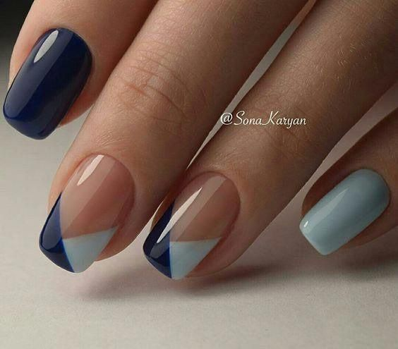 Gorgeous nail art design that is simple to do. | Simple nail art .