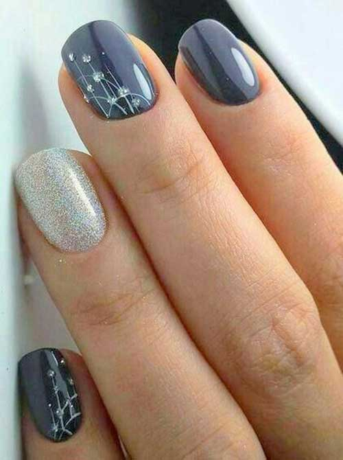 Cool Simple Nail Design - Nail Art Designs 20