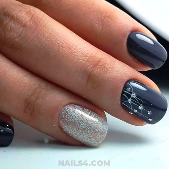 35+ Easy Nail Design Ideas for Party | Simple nail designs, Nail .