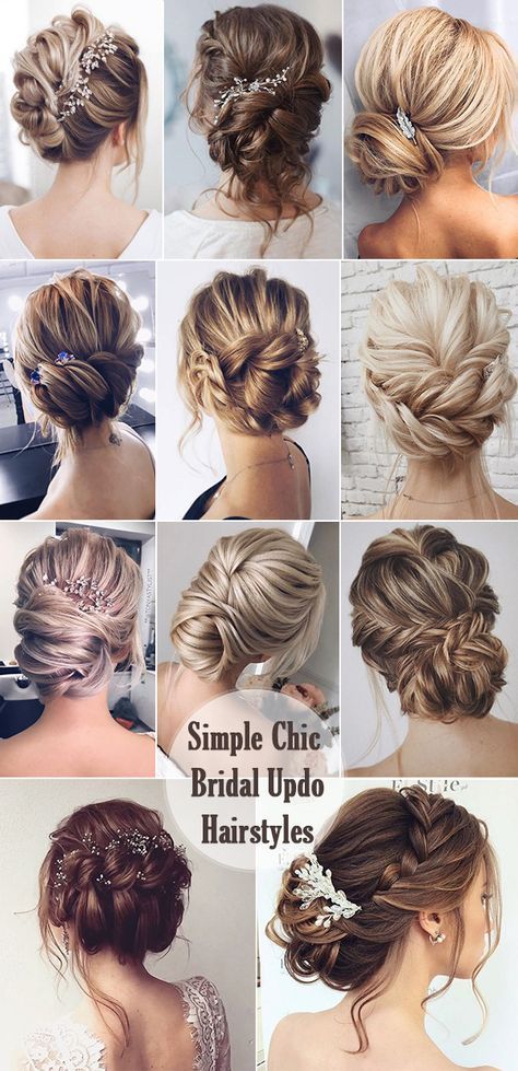 25 Chic Updo Wedding Hairstyles for All Brides .