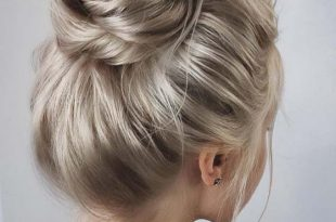 23 Tremendous Simple Updos for Busy Ladies – Women Style Bl