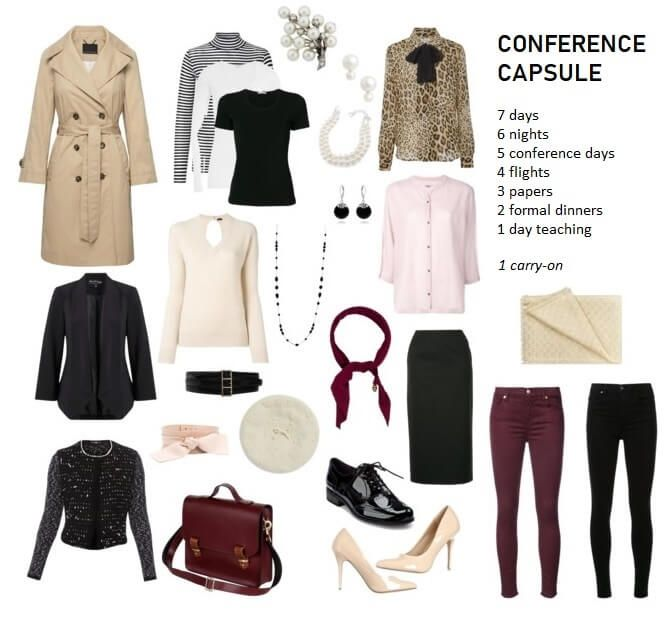 Smart Cool Outfit For One Week Vacation | Travel wardrobe, Capsule .