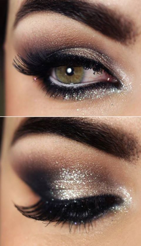 40+ Stunning Shimmery Smokey Eye Makeup DIY Tutorials - DIY .
