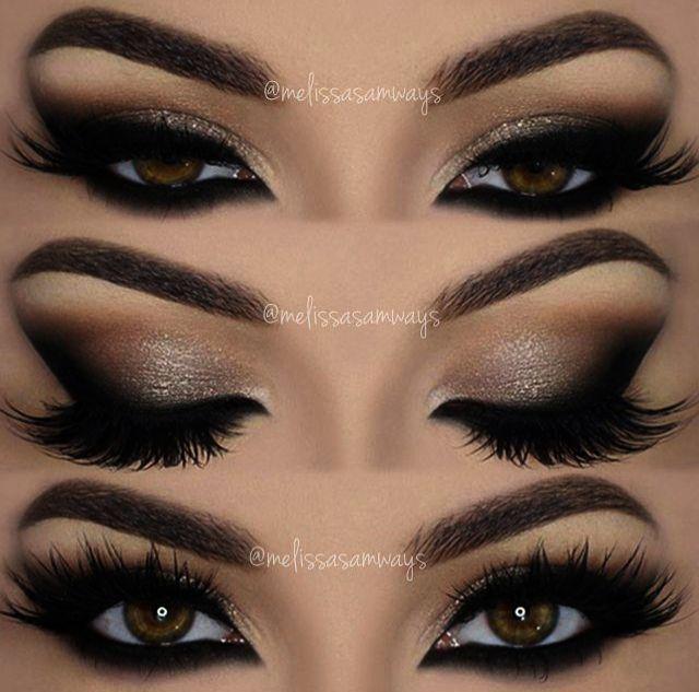 Ahhh >> Eye Makeup Looks :) #BeginnerMakeupTips in 2020 | Almond .