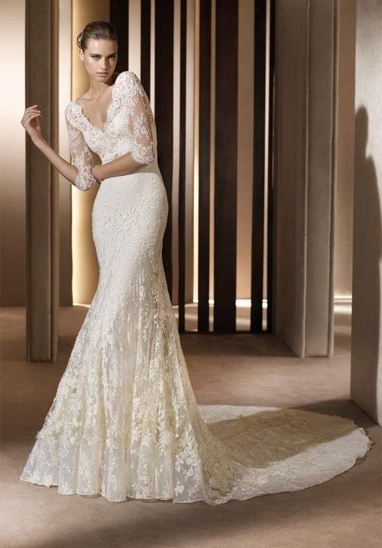 20 of The Most Stunning Long Sleeve Wedding Dresses | Wedding .
