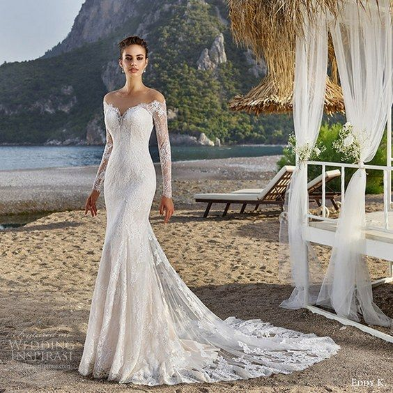 100 Stunning Long Sleeve Wedding Dresses | Long sleeve wedding .