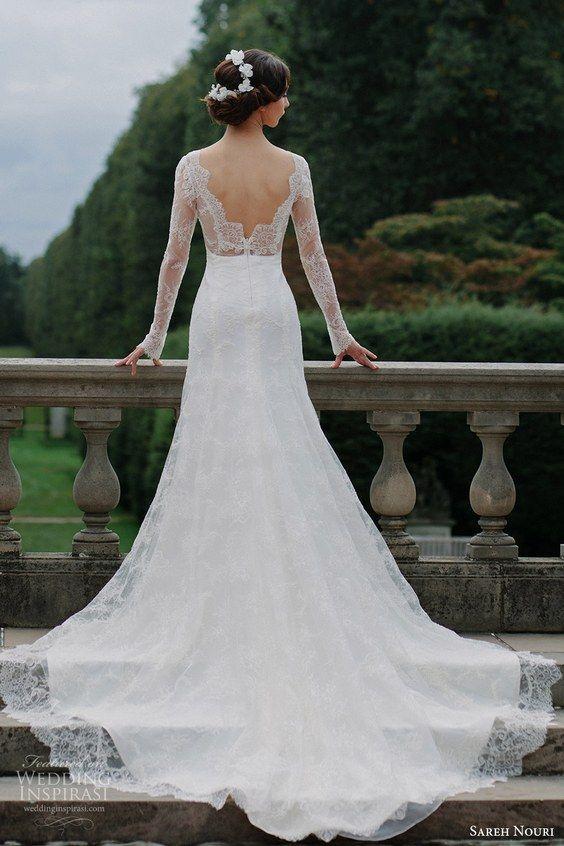 100 Stunning Long Sleeve Wedding Dresses | Wedding dress long .