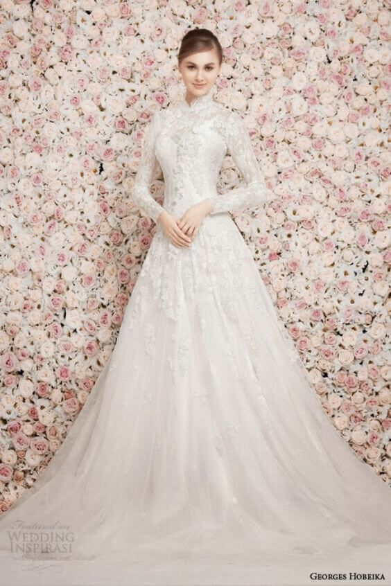 45 of the Most Stunning Long Sleeve Wedding Dresses | Bridal .