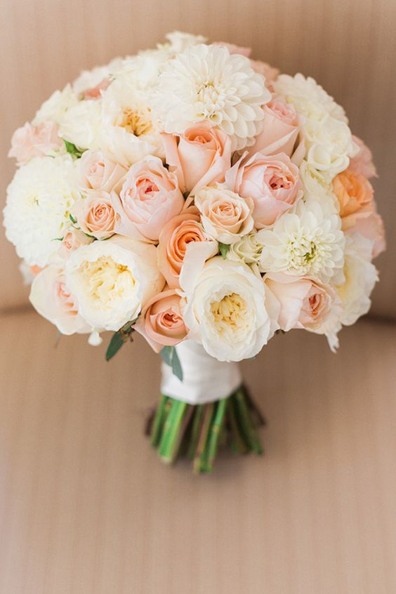 25 stunning wedding bouquets with roses for a perfect wedding .
