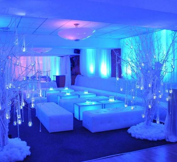 Winter Wonderland Party Set Up | Alfresco Tren