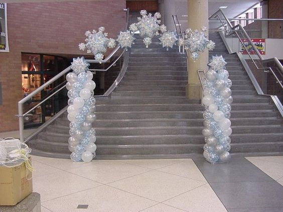 winter party decorations | Arches « Party Land of Sioux Falls .