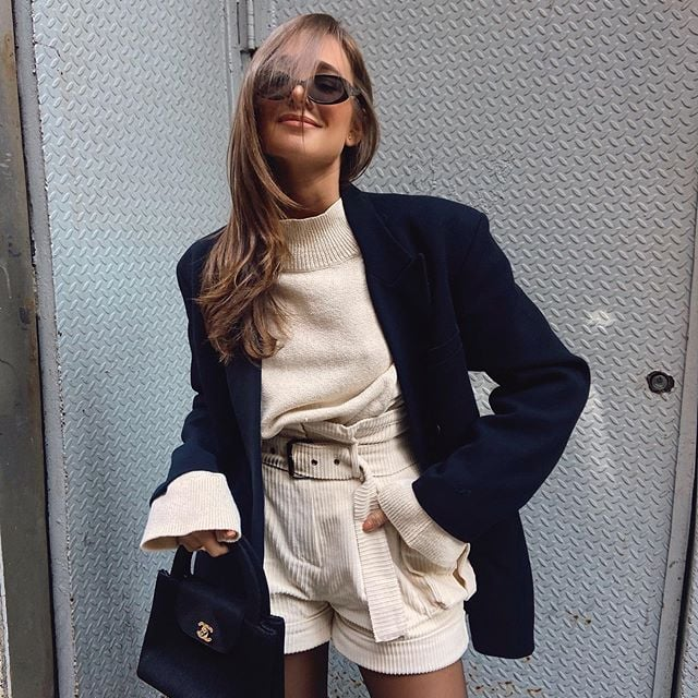 How to Wear a Blazer | Outfit Ideas From Instagram | POPSUGAR Fashi