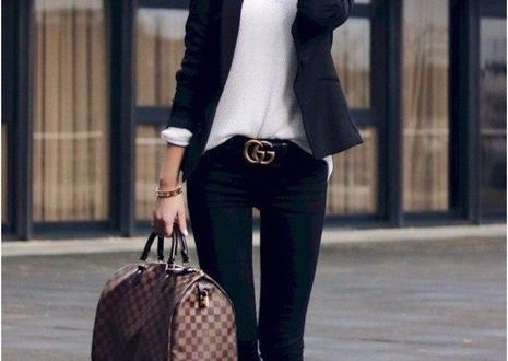 50 Attractive Women Casual Outfits Ideas For Fall | Stylish work .