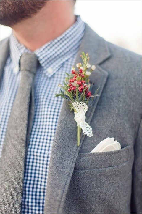 Pin on Winter Groom Attire Ide