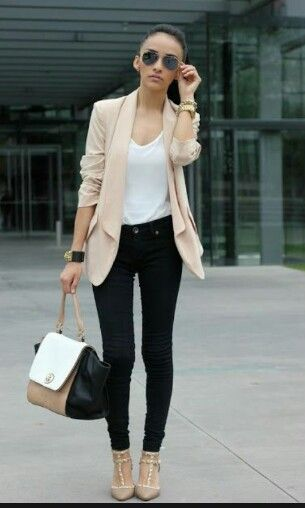 Simple interview outfit | Business casual outfits, Work fashion .