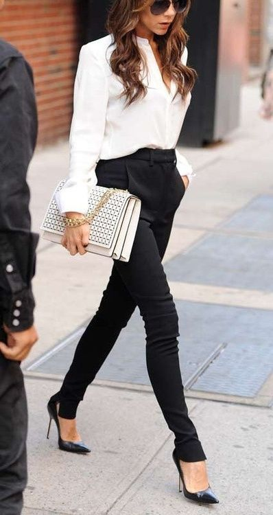 30 Chic and Stylish Interview Outfits for Ladies | Chic business .