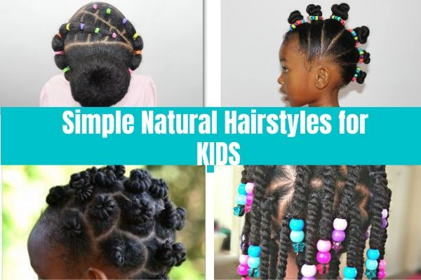 Super Easy Natural Hairstyles For Kids - Sincerely Miss