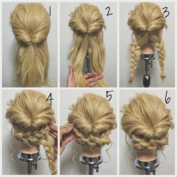 21 Super Easy updos for beginners in 2020 | Easy formal hairstyles .