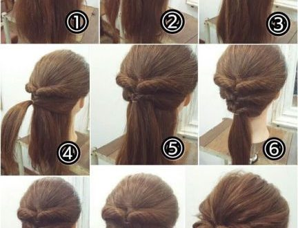 21 Super Easy Updos for Beginners (With images) | Long hair styles .