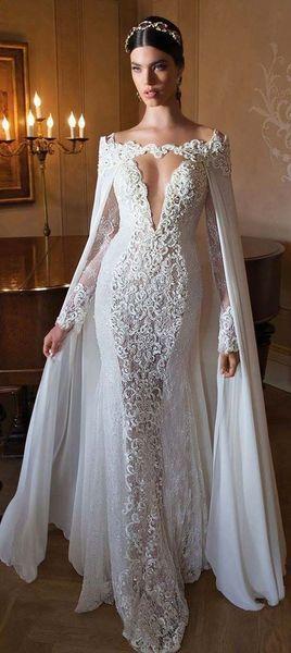 10 Super Hottest Wedding Dresses Fall 2018 - Fazhion | Cape .