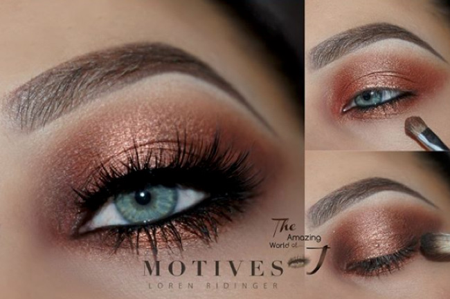 Get the Look with Motives: Thanksgiving Eyes - Loren's Wor