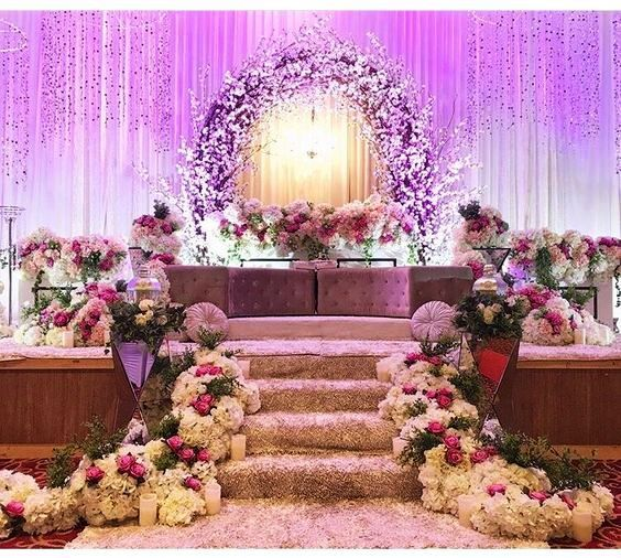 Top 24 Most Dazzling Wedding Stage Decoration That You Haven't .