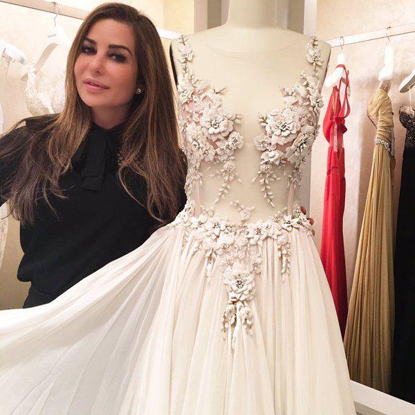 Pnina Tornai (@pninatornai) | Twitter | Pnina tornai wedding dress .
