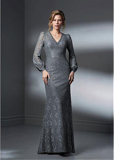 shemarriage.com provides top quality Elegant Lace V-neck Neckline .