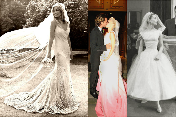 Celebrity Wedding Dress Inspiration – Wedding Journ