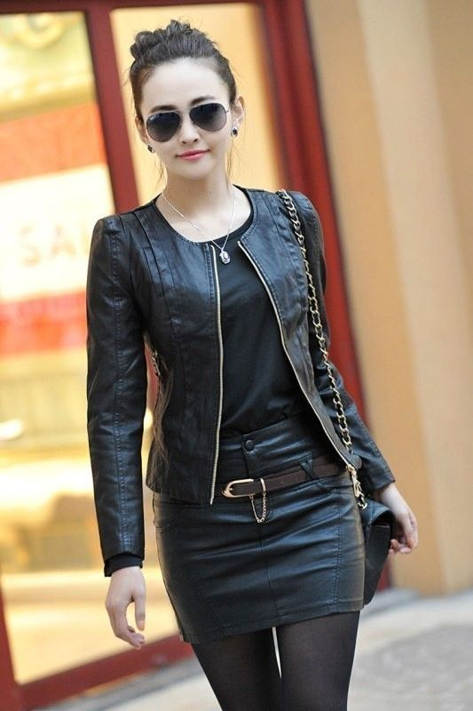 80+ Most Stylish Leather Jacket Trends for Women (Updated List .