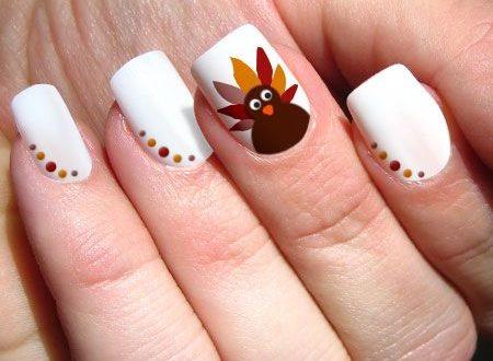 Creative Thanksgiving Nail Art Design Ideas | Thanksgiving nail .