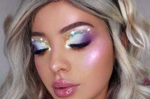 42 Unicorn Makeup Ideas Perfect for Halloween 2019   Glamo