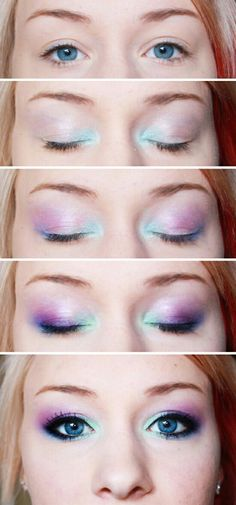 Unicorn makeup | 500+ articles and images curated on Pinterest .