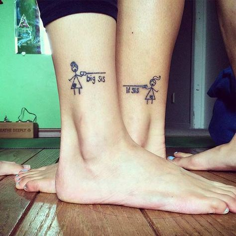 54 Cool Sister Tattoo Ideas To Show Your Bond - Page 52 of 54 .