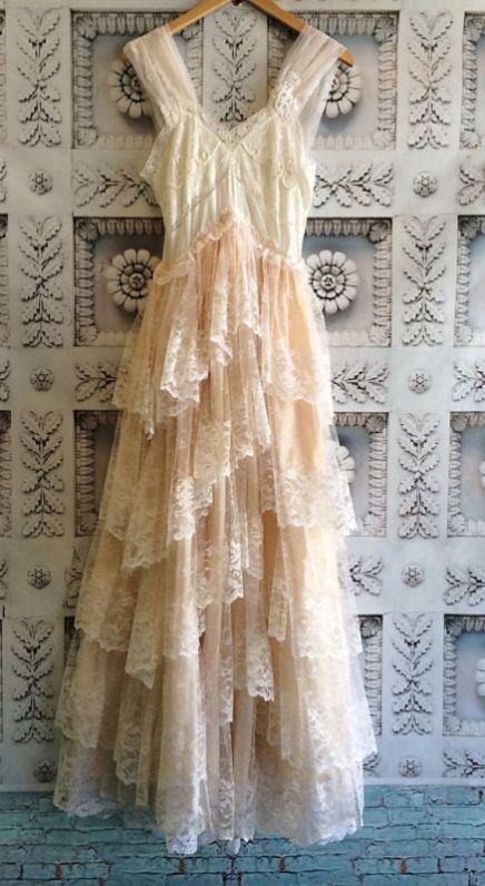 Elegant Vintage Chiffon Tea Length Wedding Dresses Trends And .