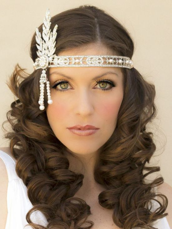 40+ Great Gatsby Inspired Makeup Styles 10 in 2020 | Kapsels .