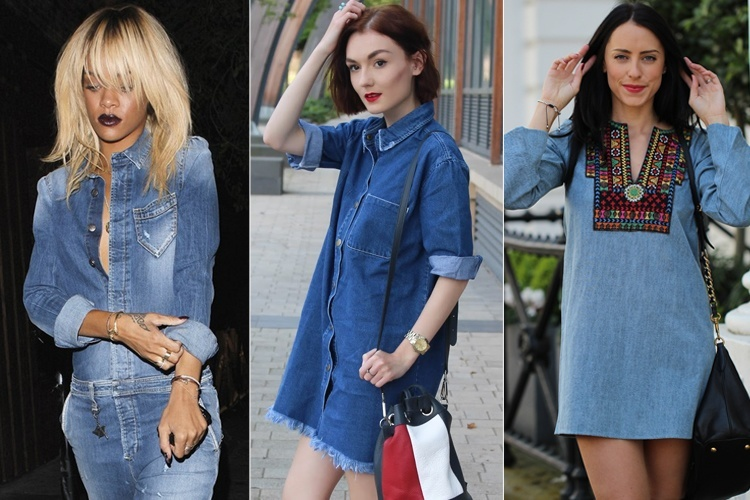 What To Wear With A Denim Dress? 5 Enthralling Combinatio