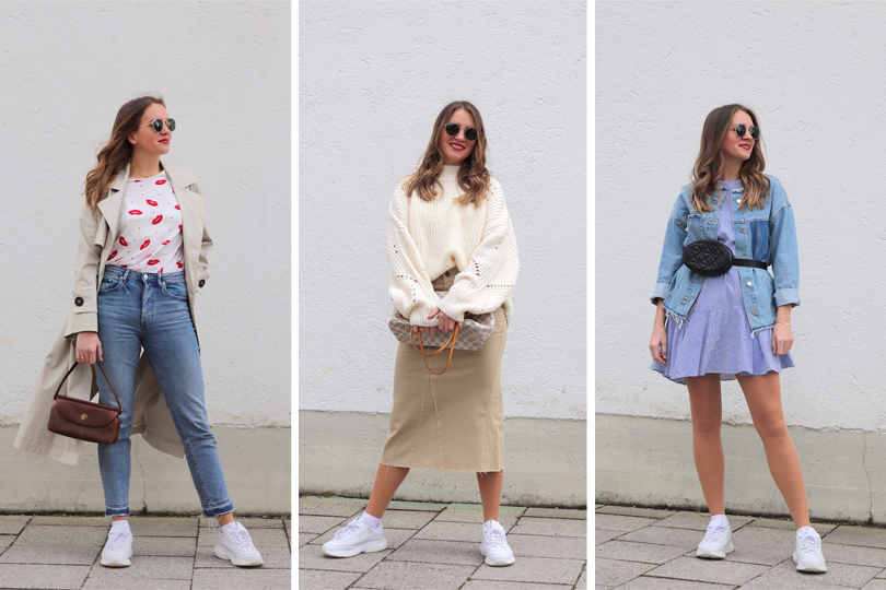 Ways To Style Sneakers - Fashion Blog Heartfelt Hunt by Marie Meh