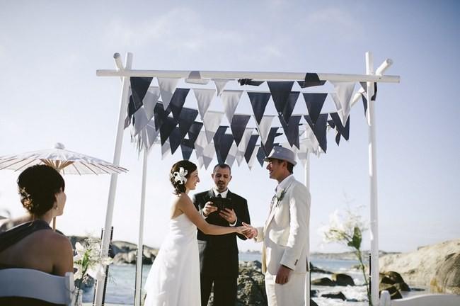 15 Wonderful Wedding Canopy & Arch Ide