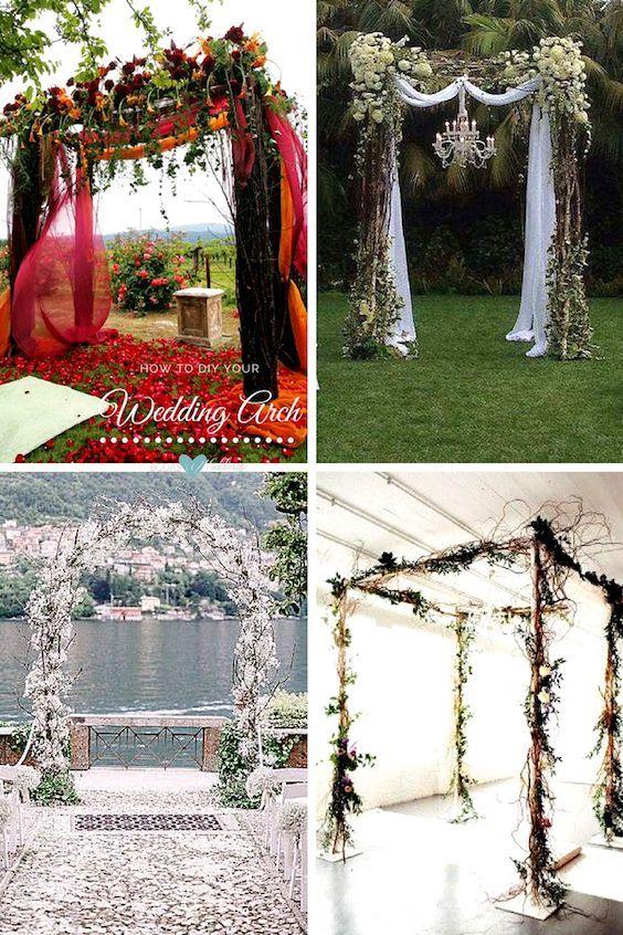 33 Wedding Ceremony Arch Ideas and 7 Incredible Altar DIYs .