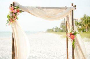 100 Beautiful Wedding Arches & Canopies   Wedding arbors, Wedding .